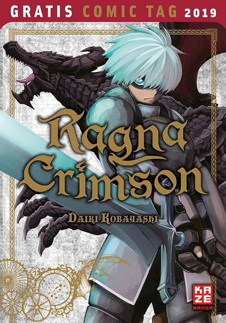 Ragna Crimson – Gratis Comic Tag 2019  - Das Cover