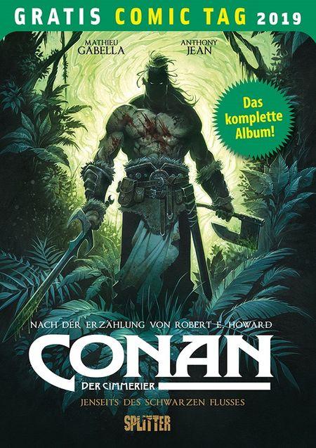 Conan der Cimmerier– Gratis Comic Tag 2019  - Das Cover