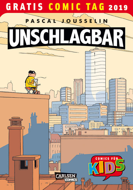 Unschlagbar - Gratis Comic Tag 2019 - Das Cover