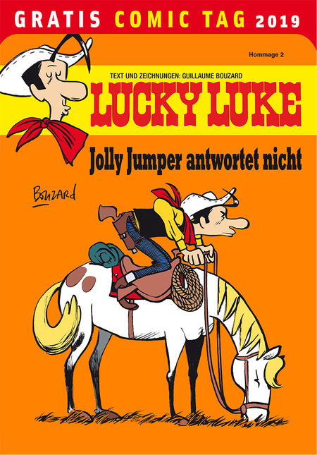 Lucky Luke - Gratis Comic Tag 2019 - Das Cover