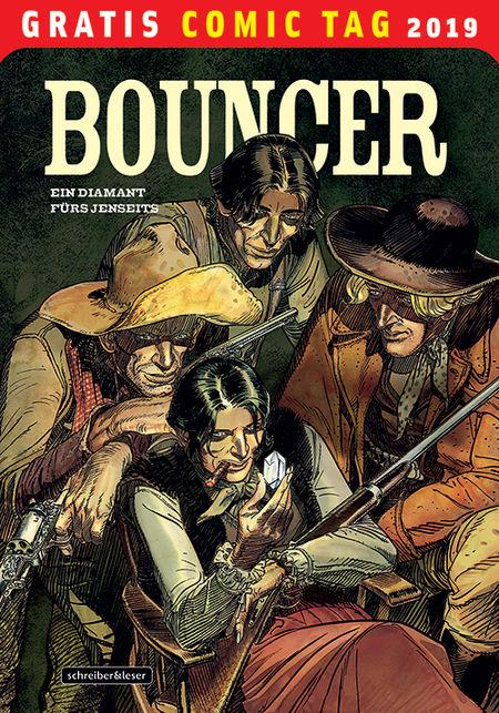 Bouncer - Gratis Comic Tag 2019 - Das Cover