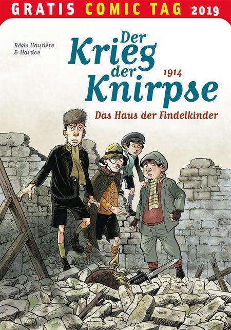 Der Krieg der Knirpse - Gratis Comic Tag 2019 - Das Cover
