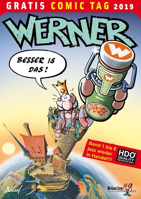 Gratis Comic Tag 2019: Werner - Das Cover