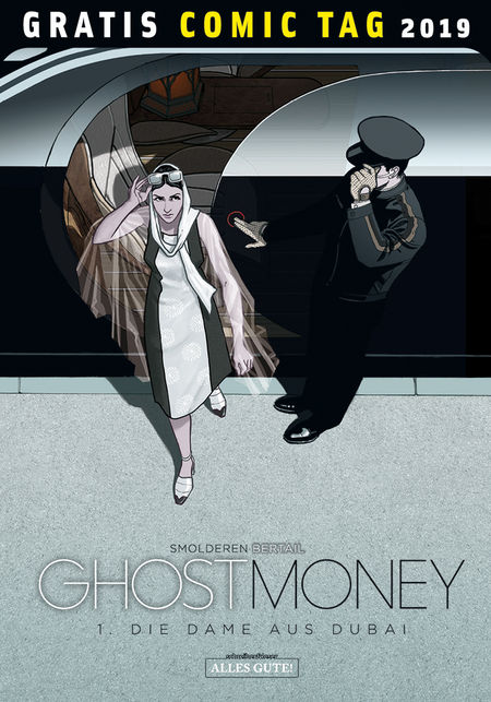 Gratis Comic Tag 2019: Ghost Money - Das Cover