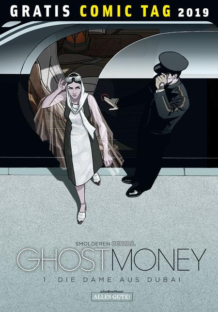 Gratis Comic Tag 2019: Ghost Money - Das Cover