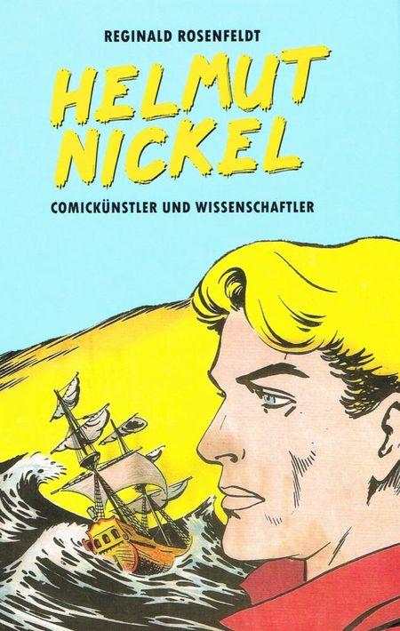 Helmut Nickel – Comickünstler und Wissenschaftler - Das Cover