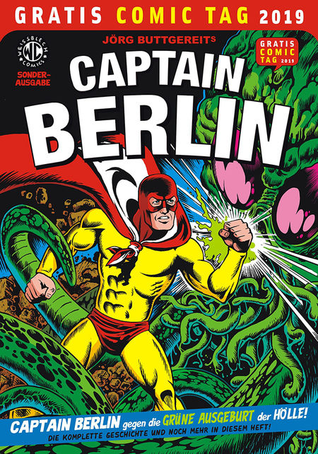 Gratis Comic Tag 2019: Captain Berlin - Das Cover