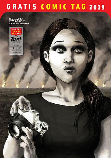 Gratis Comic Tag 2019: Seneca Akte II – Tod in Genf - Das Cover