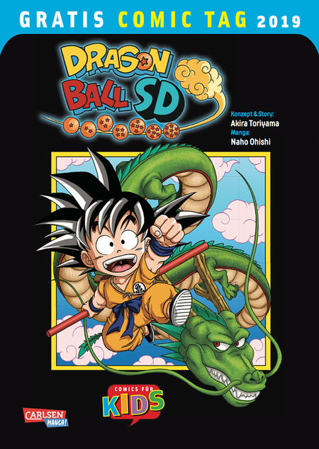 Gratis Comic Tag 2019: Dragon Ball SD - Das Cover