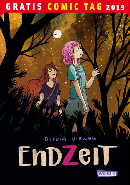 Gratis Comic Tag 2019: Endzeit - Das Cover