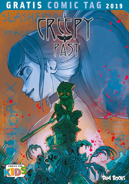 Gratis Comic Tag 2019: Creepy Past - Das Cover