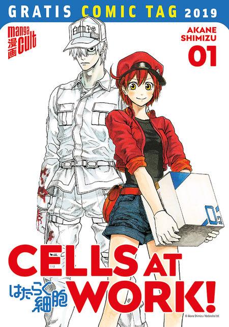 Gratis Comic Tag 2019: Cells at Work! 1 - Das Cover