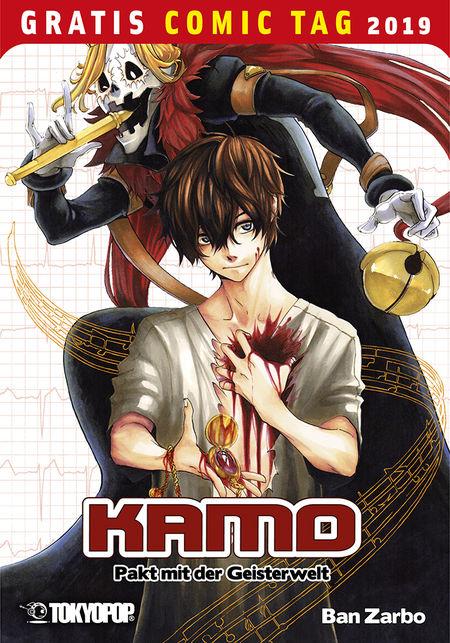 Gratis Comic Tag 2019: Kamo - Pakt mit der Geisterwelt - Das Cover