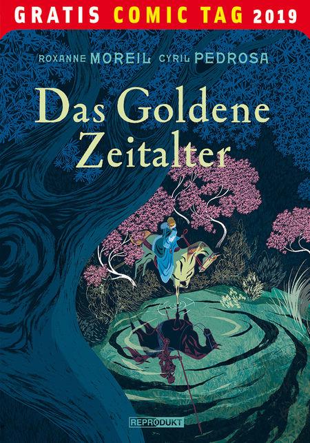 Gratis Comic Tag 2019: Das Goldene Zeitalter - Das Cover