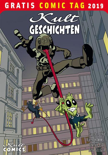 Kult Geschichten - Gratis Comic Tag 2019 - Das Cover