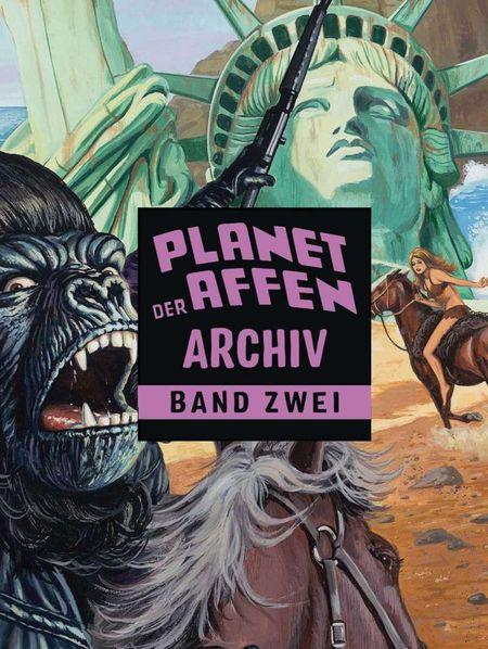 Planet der Affen Archiv Band 2 - Das Cover