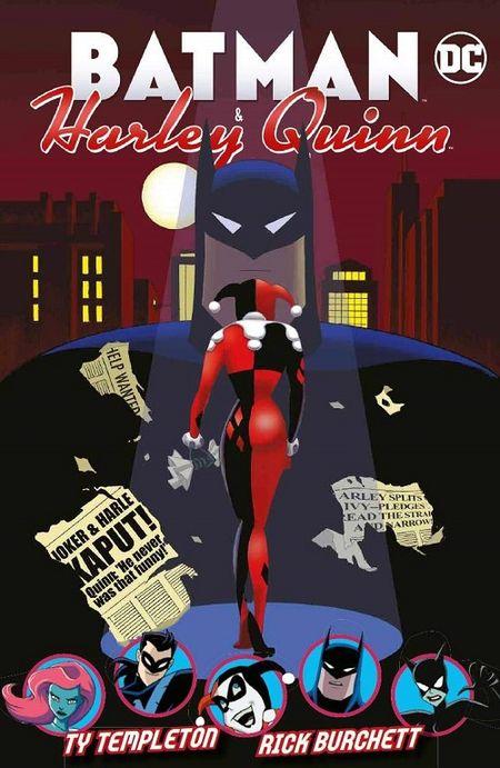 Batman & Harley Quinn - Das Cover