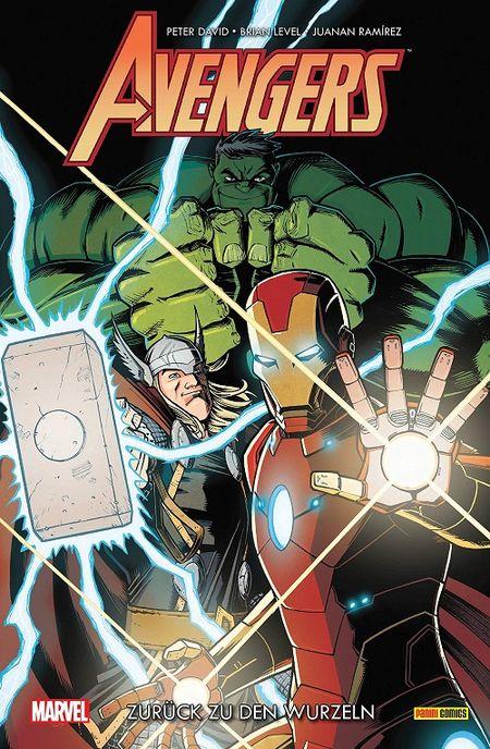 Avengers: Zurück zu den Wurzeln - Das Cover