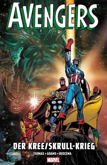 Avengers: Der Kree/Skrull-Krieg - Das Cover