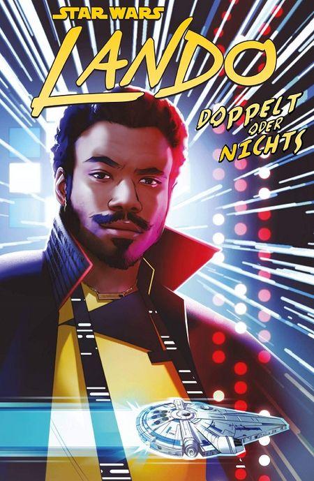 Der Star Wars Sonderband: Lando – Doppelt oder Nichts - Das Cover