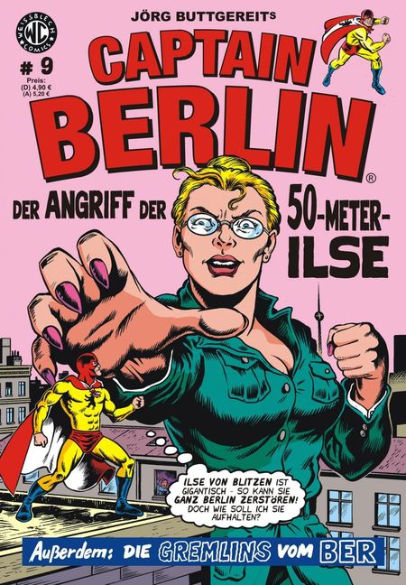 Captain Berlin 9 - Das Cover