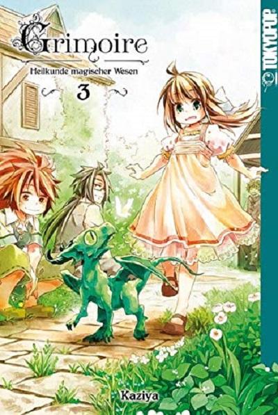 Grimoire- Heilkunde magischer Wesen 3 - Das Cover