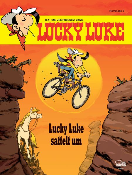 Lucky Luke Hommage 3 - Das Cover