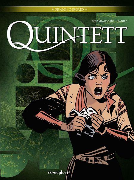 Quintett – Gesamtausgabe 3 - Das Cover
