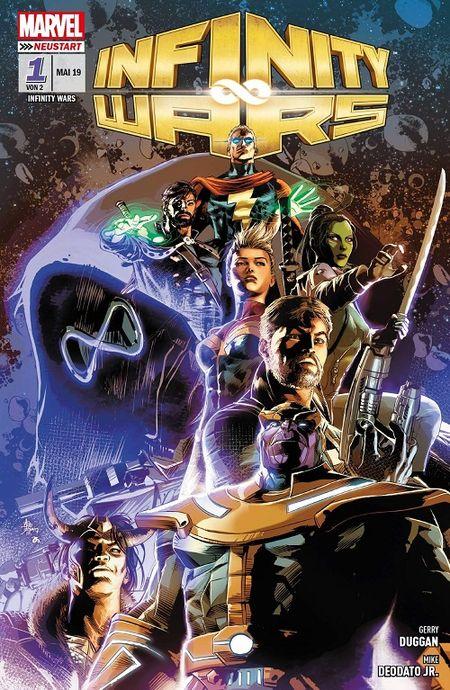 Infinity Wars 1: Die Hüter der Steine - Das Cover