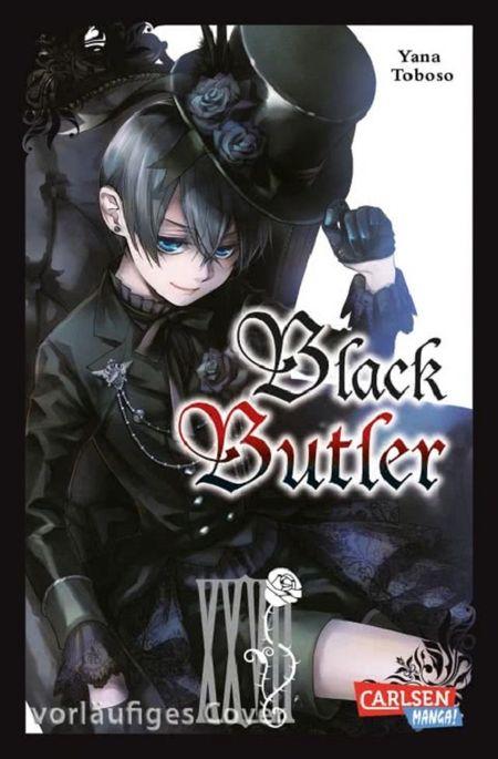 Black Butler 27 - Das Cover