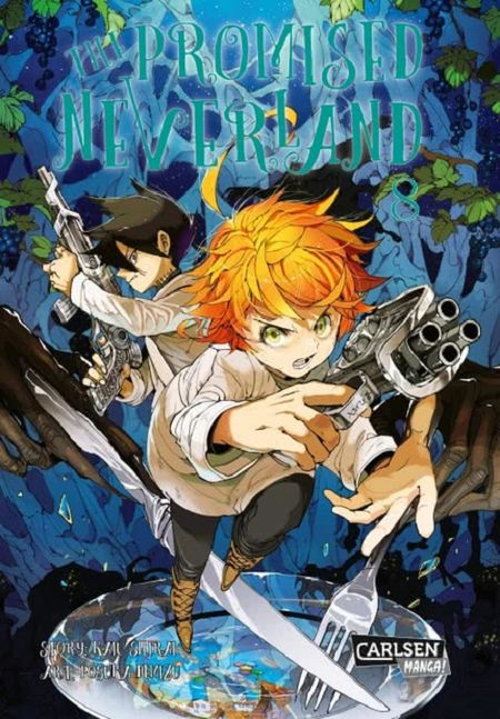 The Promised Neverland 8 - Das Cover