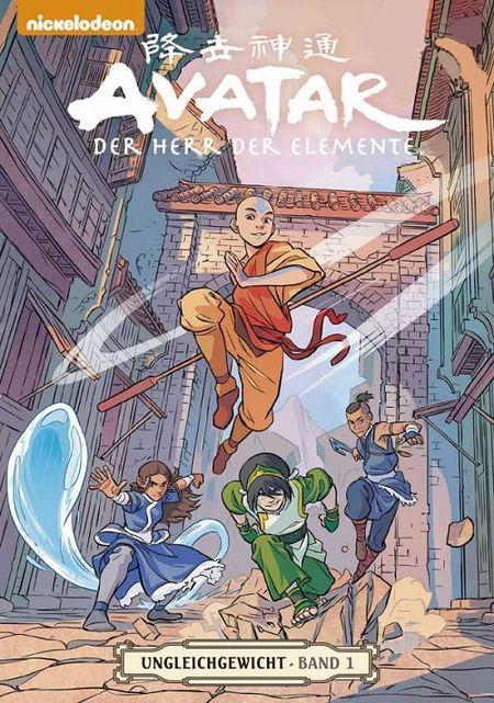 Avatar – Der Herr der Elemente 17: Ungleichgewicht 1 - Das Cover
