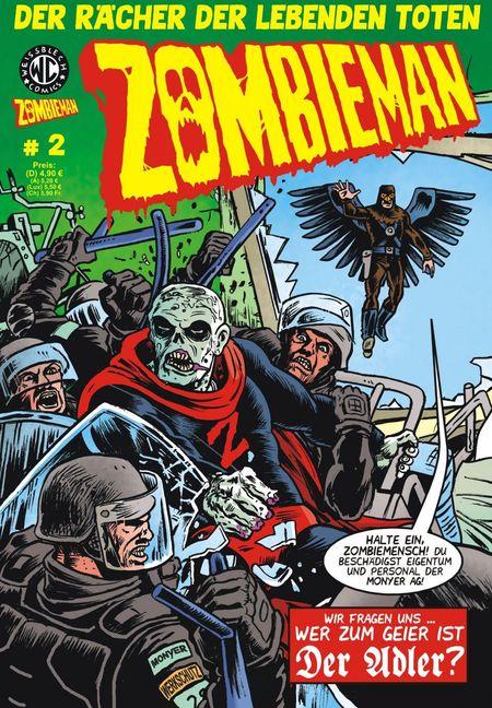 Zombieman 2 - Das Cover