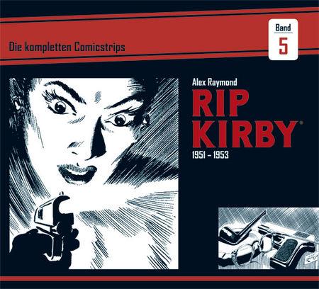 Rip Kirby 5: 1951 - 1953 - Das Cover