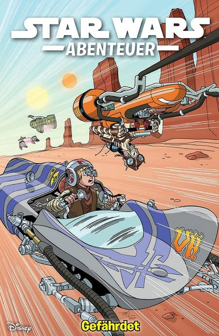 Star Wars Abenteuer 4: Gefährdet  - Das Cover