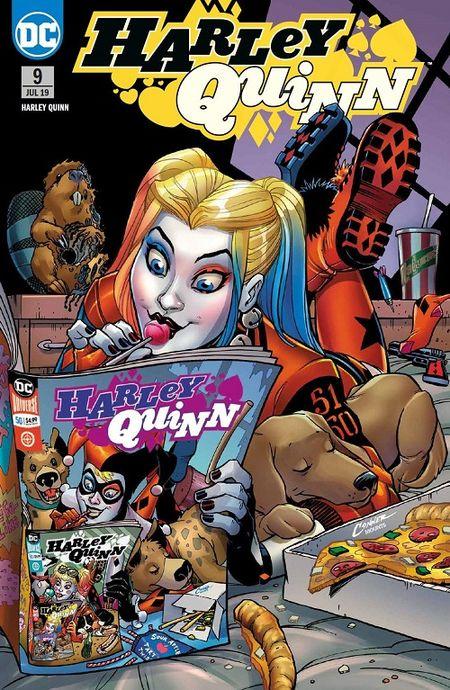 Harley Quinn (Rebirth) 9: Totales Chaos  - Das Cover