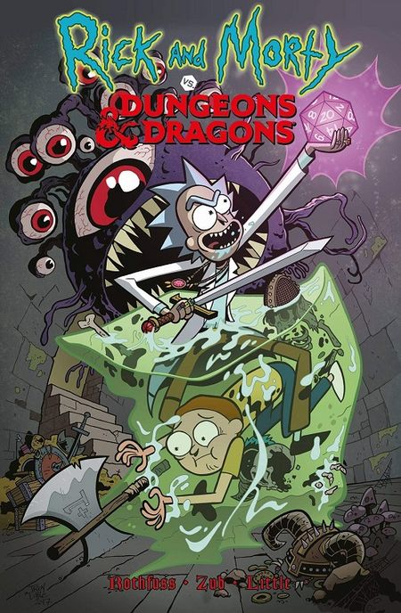 Rick und Morty vs. Dungeons & Dragons - Das Cover