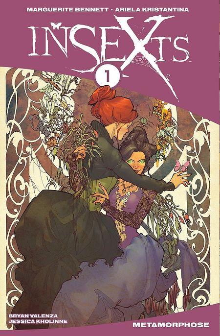 InSEXts 1: Metamorphose - Das Cover