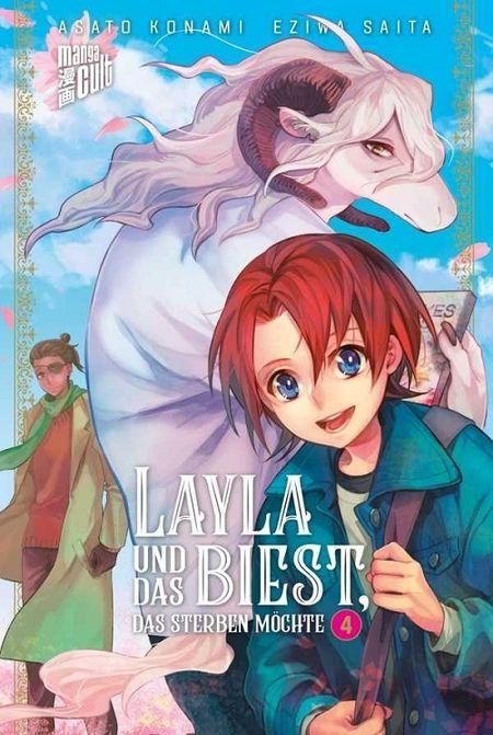 Layla und das Biest, das sterben möchte 4 - Das Cover