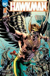 Hawkman 1: Unendliche Leben - Das Cover