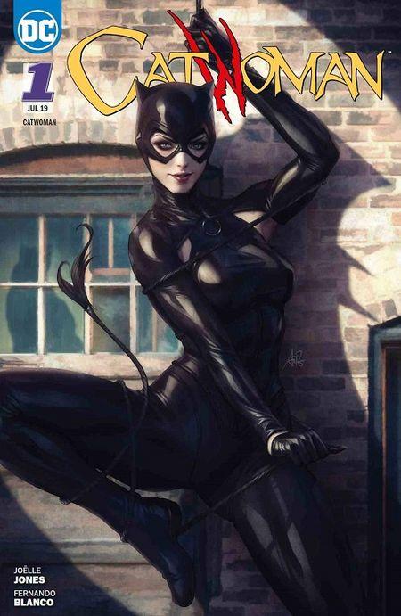 Catwoman 1: Copycats  - Das Cover