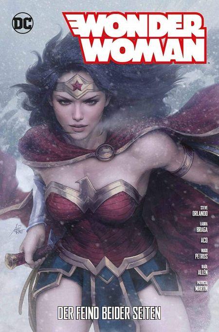 Wonder Woman (Rebirth) 8: Der Feind beider Seiten  - Das Cover
