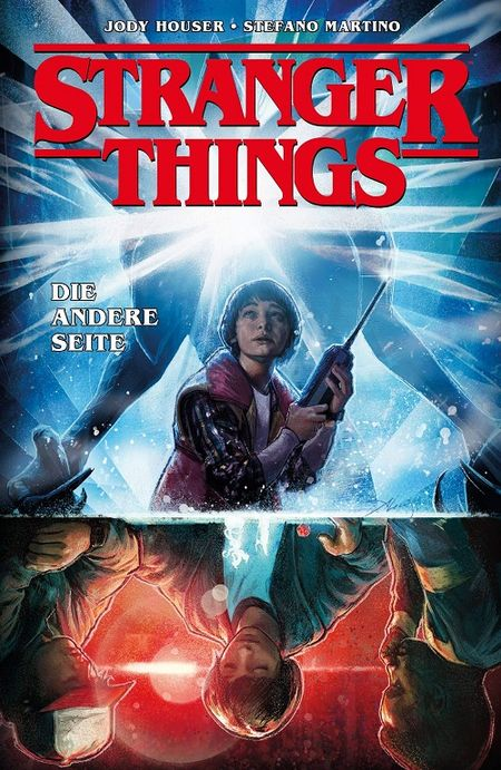 Stranger Things 1: Die andere Seite - Das Cover