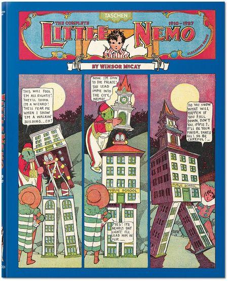 Little Nemo Gesamtausgabe 1910–1927 - Das Cover