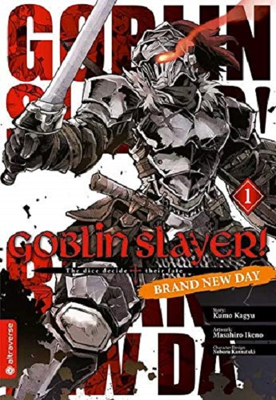 Goblin Slayer Brand New Day 1 - Das Cover