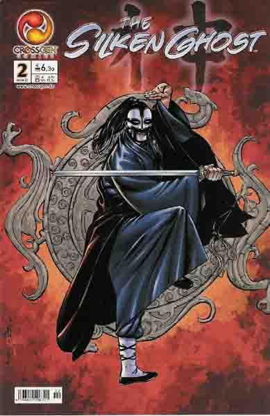 The silken Ghost 2 - Das Cover