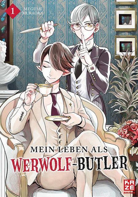 Mein Leben als Werwolf-Butler 1 - Das Cover