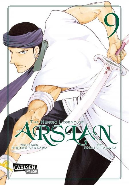 The Heroic Legend of Arslan 9 - Das Cover