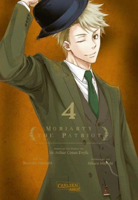 Moriarty the Patriot 4 - Das Cover
