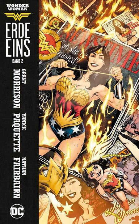 Wonder Woman Erde Eins 2 - Das Cover